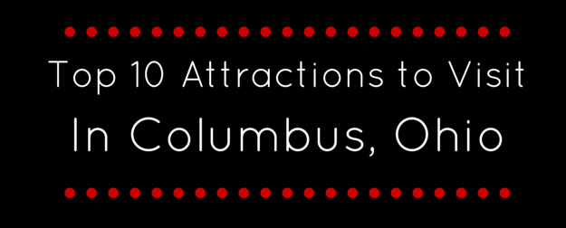 10 attractions columbus banner
